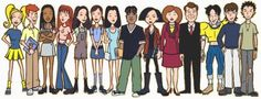 Daria Cast,.. but, unless I'm missing something... where is Daria? ???