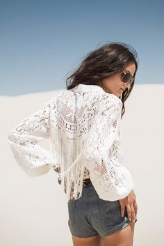 The Fleetwood Vintage Lace Blouse