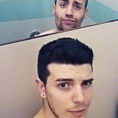 #followus #followme #gay #gayman #boy #naked #afterwork #shower #smile #funny #likes4likes #like4me #shoutoutforshoutout #rimini #volleyball #trainer #gym by alanapple