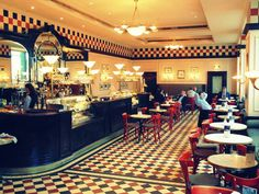 Bristol Cafe at Hotel Bristol, Warsaw. Pic by The Pic Traveler