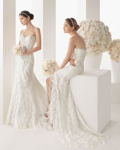 abito da sposa Monaco Two by Rosa Clará 2014