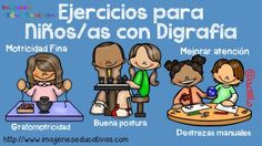 Ejercicios para Niños as con Digrafía