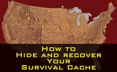 How to Hide and Recover Your Survival Cache
