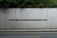 Graffiti - on - off