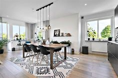 A three-piece brown tones in Sweden – PLANETE DECO a homes world Source by marionlegonidec Dream Home Design, My Dream Home, House Design, Home Hacks, Dining Room Design, Home And Living, Living Room Decor, Sweet Home, New Homes
