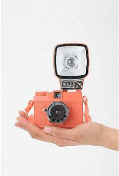 UrbanOutfitters.com > Lomography Diana F+ Flash Mini Camera