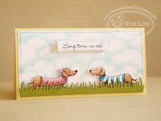 TSG new stamp set , Doxie with Moxie