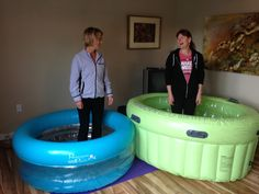 Whether you're actually planning to give birth at home in the water or just want to labour in the water a bit, birth pools can offer some incredible pain relief. There are several choices on the market. Here is a guide to help you decide which one to get.