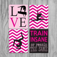 Girls Gymnastics Art Cute Personalized by gymnasticsgifts on Etsy