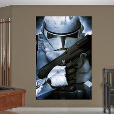 Cool clone trooper poster