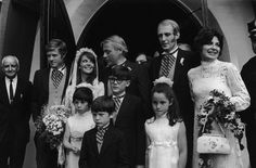 Robert Redford as best man at Natalie Wood's wedding to Richard Gregson, May 30th 1969.