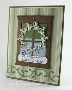 Card created by Pam Sparks using Perfect Layers rulers.