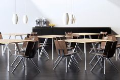 Versteel - Paces Tables & Quanta Chairs
