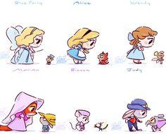 the disney princess Cute Disney Drawings, Disney Princess Drawings, Cute Kawaii Drawings, Disney Sketches, Disney Kawaii, Chibi Disney, Disney And Dreamworks, Cute Disney Characters, All Disney Princesses