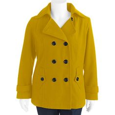 7e5099f2b73 George - George Women s Plus-Size Faux Wool Hooded Peacoat - Walmart.com