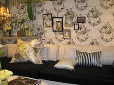 salon maison&objet janvier 2009 Espace inspiration lifestyle decoration designers guild tricia guild textile papier peint wallpaper