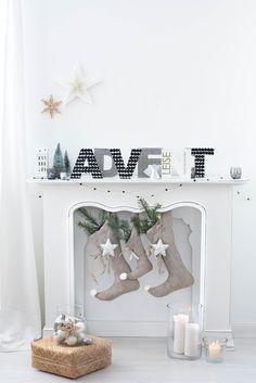 s i n n e n r a u s c h: DIY Advent Letters | [Nachmachtipp] Holzbuchstaben mit Serviettentechnik