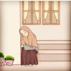 Islamic Cartoon, Hijab Cartoon, Ghost Photos, Profile Picture For Girls, Allah Islam, Muslim Girls, Blackpink Jennie, Girl Cartoon