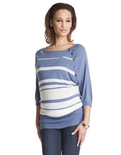 fb5f8b15d6 Seraphine s breastfeeding jumper is a favorite for nursing moms.    NineAndAHalfMonths.com    mother  maternity  pregnancy