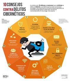 Consejos contra delitos cibernéticos