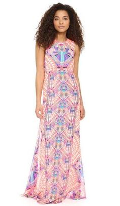 Hoffman Back Keyhole Gown
