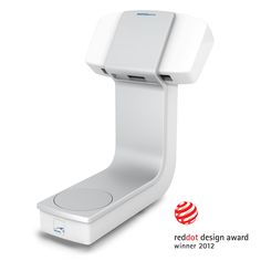 Reddot Award winner dental scanner Sinergia Scan by Crenaova and Nobil-Metal. Innovative, non-contact optical 3D dental scanner. Using structured light, objects are scanned three-dimensionally. Open structure, absence of doors or obstacles makes it freely accessible for different models and allows to scan several objects at once. Scanner may be connected with any kind of CAM manufacturing system. The design is clear, elegant and its clean line emphasize its ergonomic and functional…