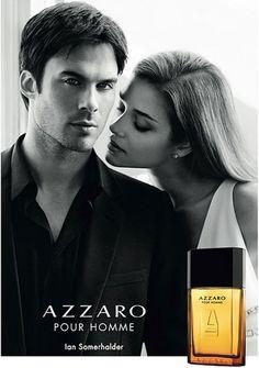Pub parfum Azzaro avec Ian Somerhalder // @Azzaro