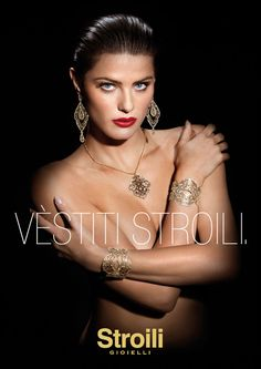 Isabeli Fontana s Nearly Naked Stroili Oro 2013 Jewelry Campaign ad18dfd9b22