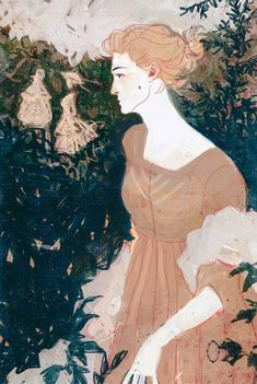 """""""Interior book illustrations for the new edition of Jane Austen's Mansfield Park, published by the Folio Society. Art And Illustration, Character Illustration, Character Sketches, Art Illustrations, Kunst Inspo, Art Inspo, Character Inspiration, Character Design, 2d Art"""