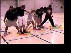 Cooperation Teamwork Caterpillar Traverse Activity: TOOBEEZ Teambuilding - YouTube