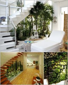 Ideas for that redundant space under staircases!