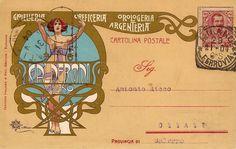 Liberty Italiano | Designed:Giovanni Maria Mataloni (Roma, 1869 – Roma, 1944)