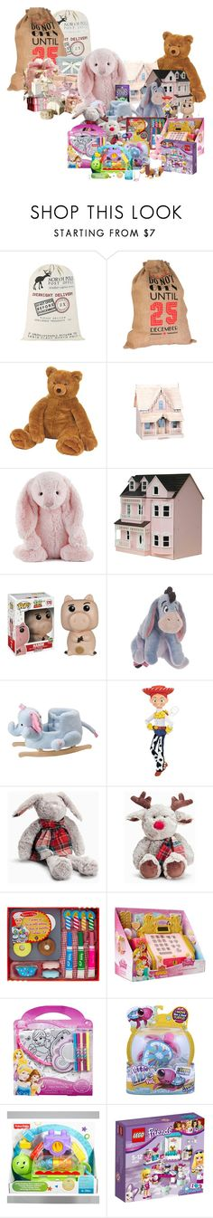"""""""Sin título #1119"""" by dianat-2 ❤ liked on Polyvore featuring Sika, Vivid Wrap, Dollhouse, Jellycat, Streets Ahead, Disney, Alex Toys, Fisher Price and Elsa Peretti"""