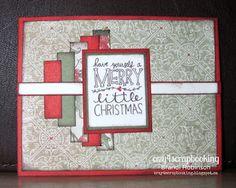 crzy4scrapbooking: Merry Little Christmas....AHSCH #136