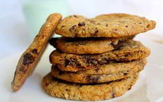 Dorie Greenspan's Chocolate Chip Cookies. More