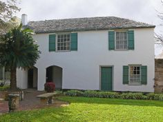 The González-Alvarez House in St. Augustine is the oldest surviving Spanish Colonial home in Florida