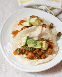 Middle Eastern Carrot Tacos | Big Girls Small Kitchen