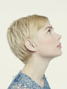 Michelle Williams - I always wished I could pull off a pixie cut.
