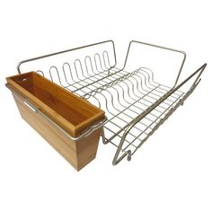 Nesting Dish Drainer & Cutlery Holder - Threshold™ : Target