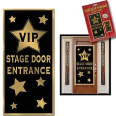 Vip Stage Door Cover from Windy City Novelties