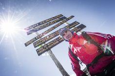 Valery Rozov at Uhuru Peak, 5895 – the highest point of Africa Kilimanjaro, High Point, Africa, Base, Afro