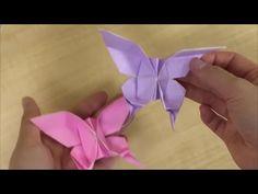 Aprenda a fazer ORIGAMI borboleta FÁCIL