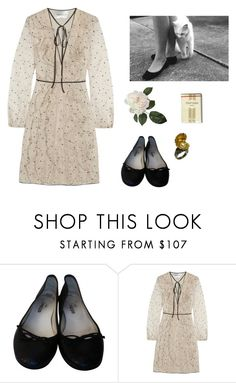 """""""Untitled #894"""" by nibli ❤ liked on Polyvore featuring Repetto, Valentino, Russell Lownsbrough, women's clothing, women's fashion, women, female, woman, misses and juniors"""
