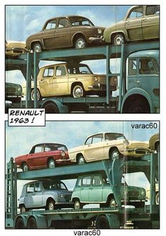 R4l 1962 Renault 4 La Quatrelle Pinterest