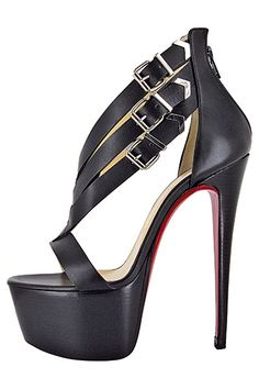 Red High Heels... $115 for charistian louboutin shoes for summer style. Nice!