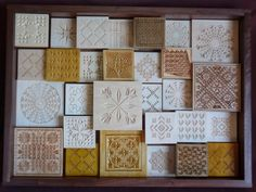 Chip Carving Class - Quilt Squares #18: Quilt project is done, ready for auction - by MyChipCarving @ LumberJocks.com ~ woodworking communit...