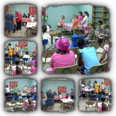 FIZZ BOOM READ 2014  The kids having a blast with Mrs. Cynthia at Poplarville Public Library.