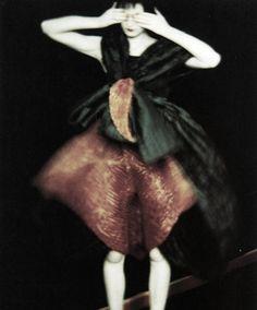 Teresa Stewart for Issey Miyake, 1995 by Sarah Moon.