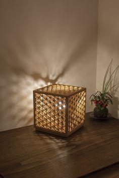 """Midare-kumiko Lantern"""" ASANOHA"""" / Ominato Bunkichi Shoten Co.,Ltd."""