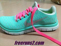 e260b3d7c790 Womens Nike Free 3.0 V4 Tropical Twist (Tiffany Blue) Reflective Silver Pro  Platinum Peach